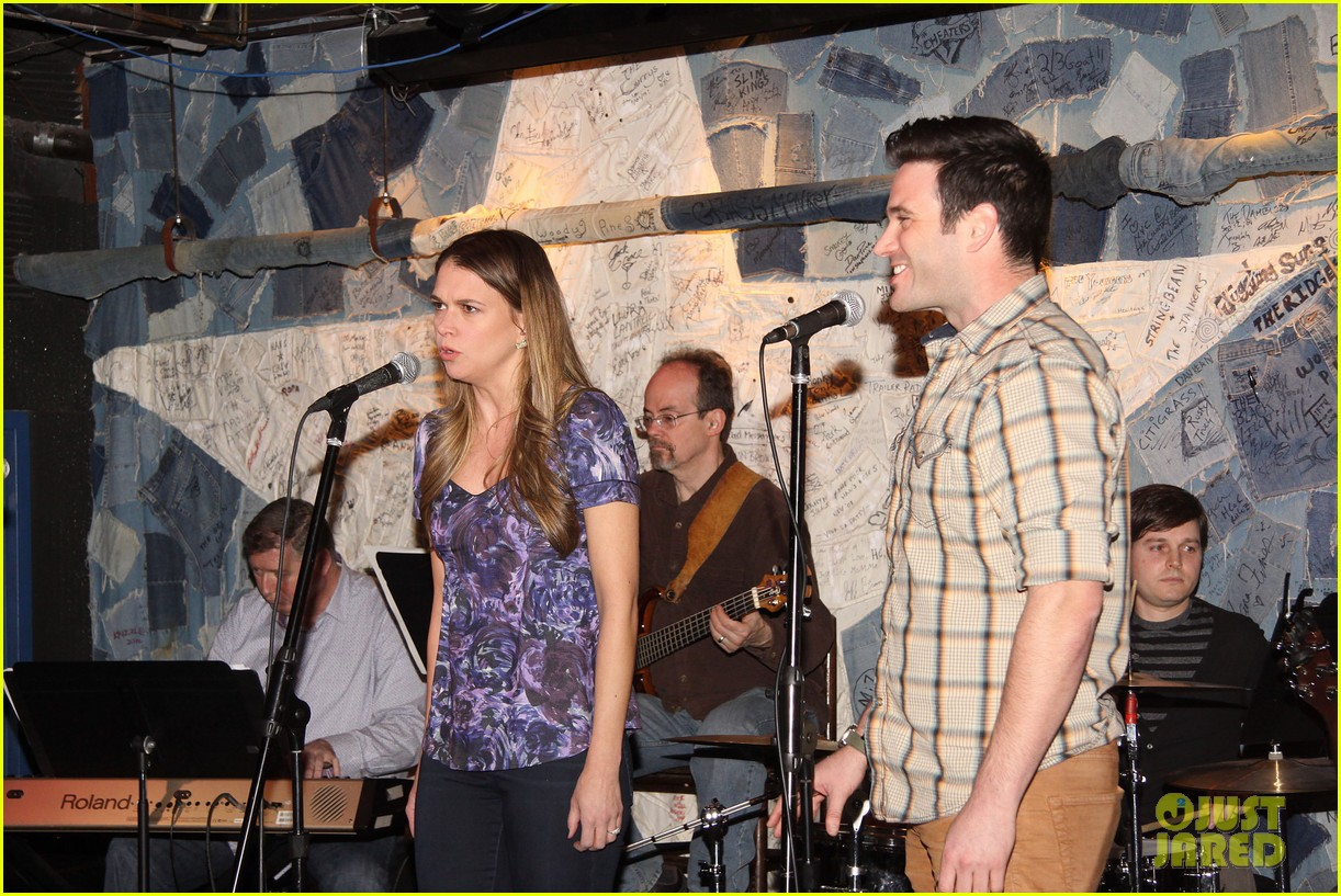 sutton foster colin donnell preview broadway musical violet 093066632