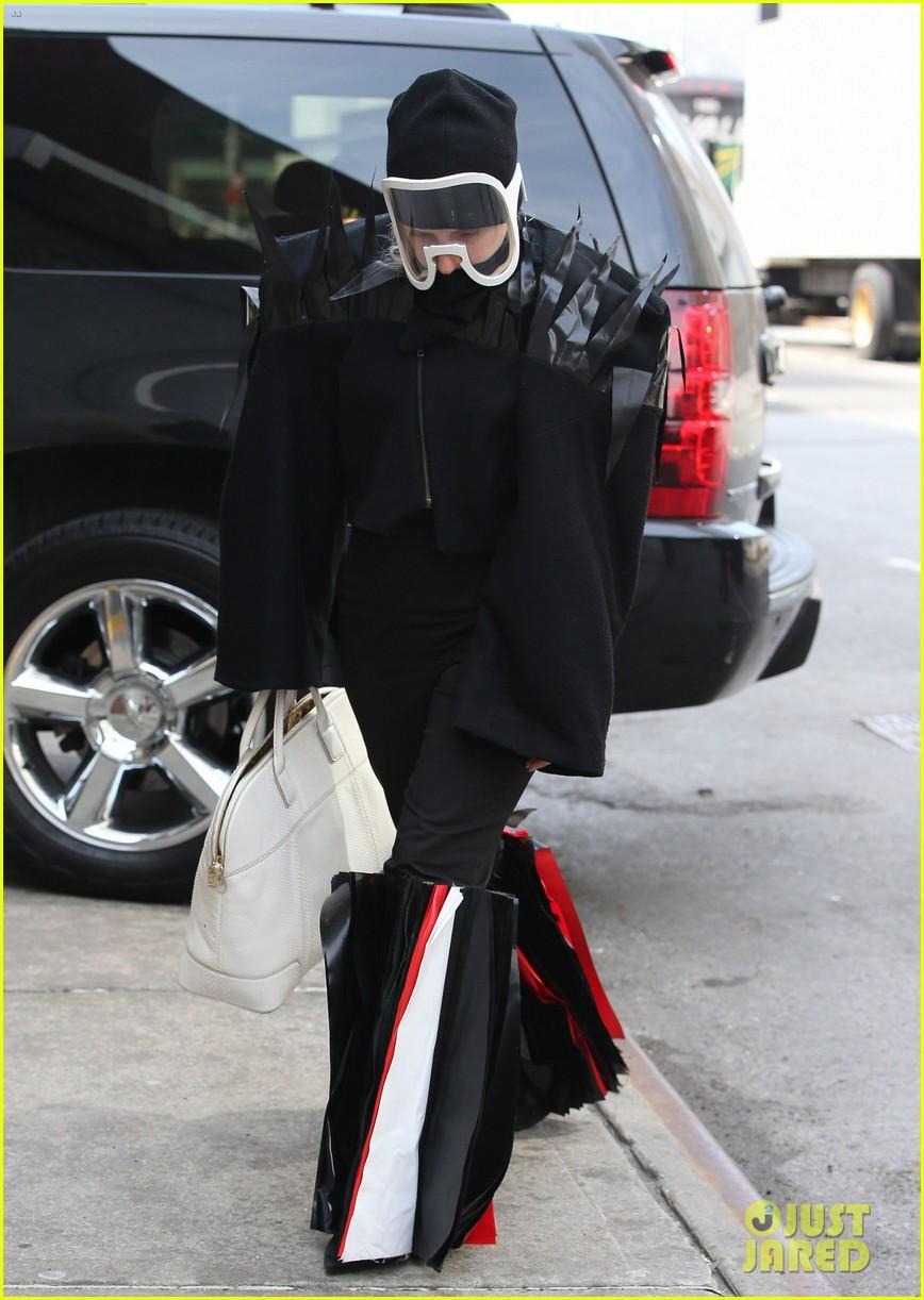 lady gaga futuristic outfit guy video 013076851