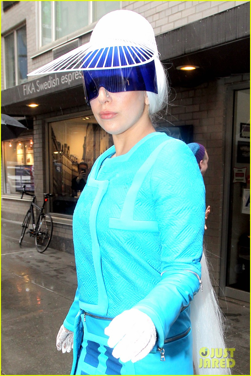 lady gaga wears two very interesting outfits on her birthday 043080604