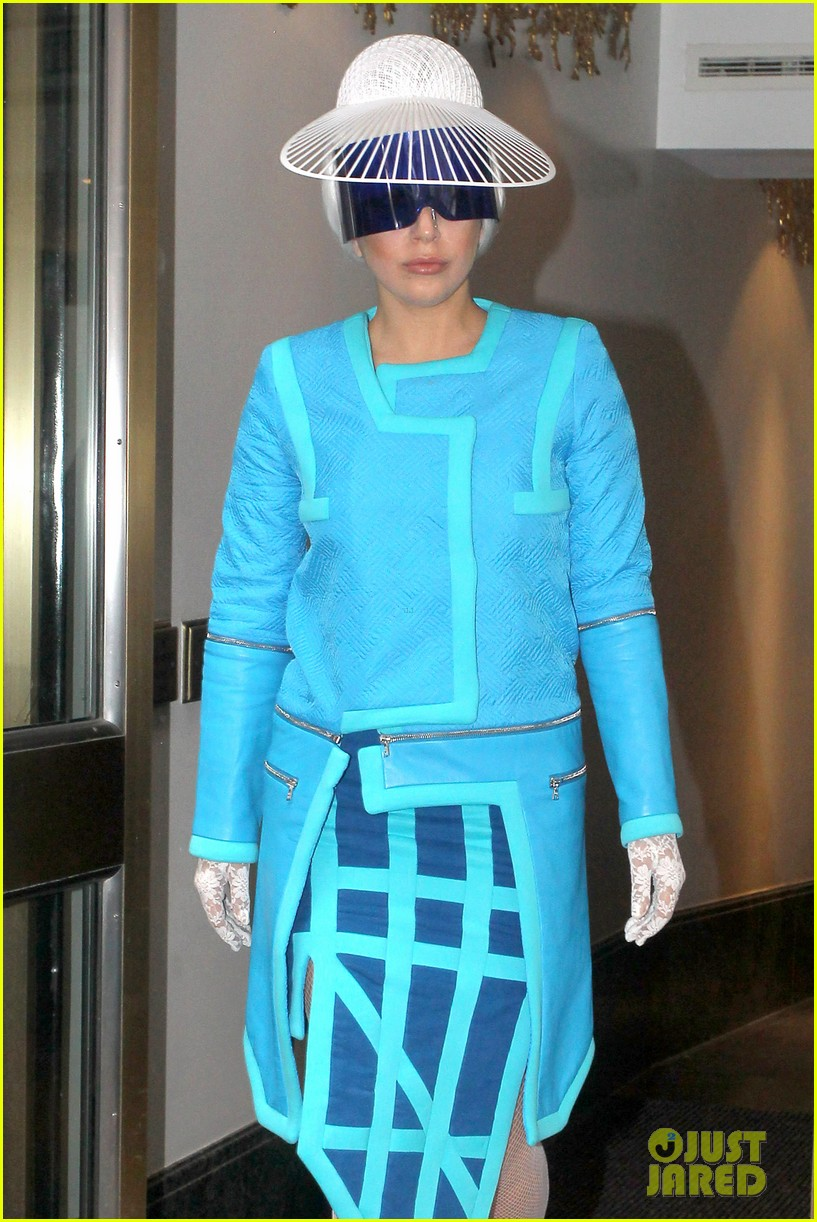 lady gaga wears two very interesting outfits on her birthday 063080606