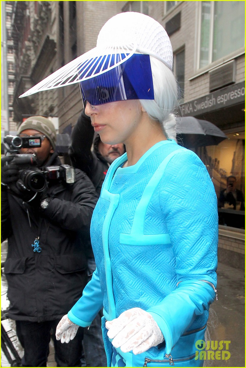lady gaga wears two very interesting outfits on her birthday 133080613