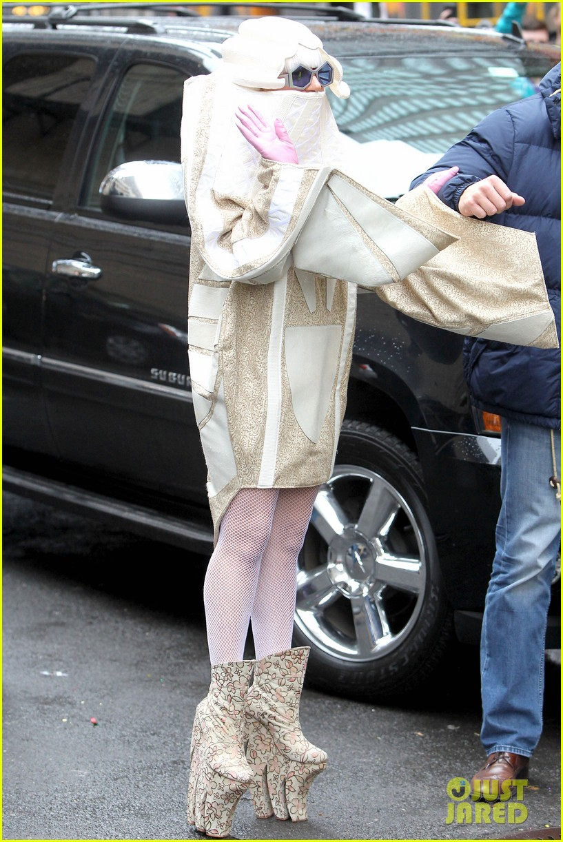 lady gaga wears two very interesting outfits on her birthday 213080621