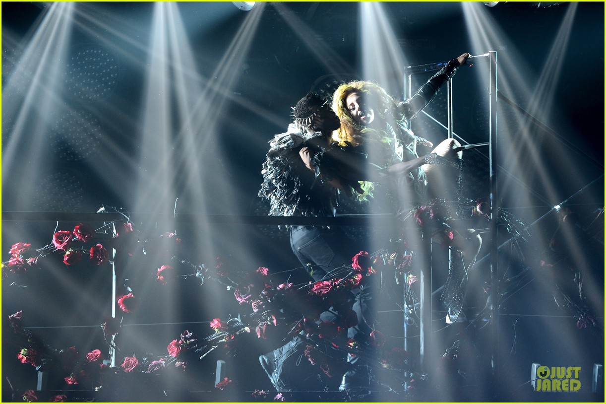 lady gaga rock flashy outfits for roseland ballroom 043081198