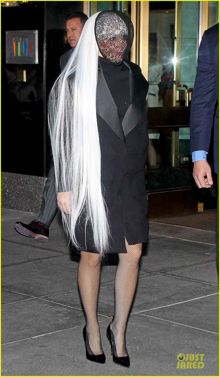 lady gaga beauty recognizable under veil 073082499