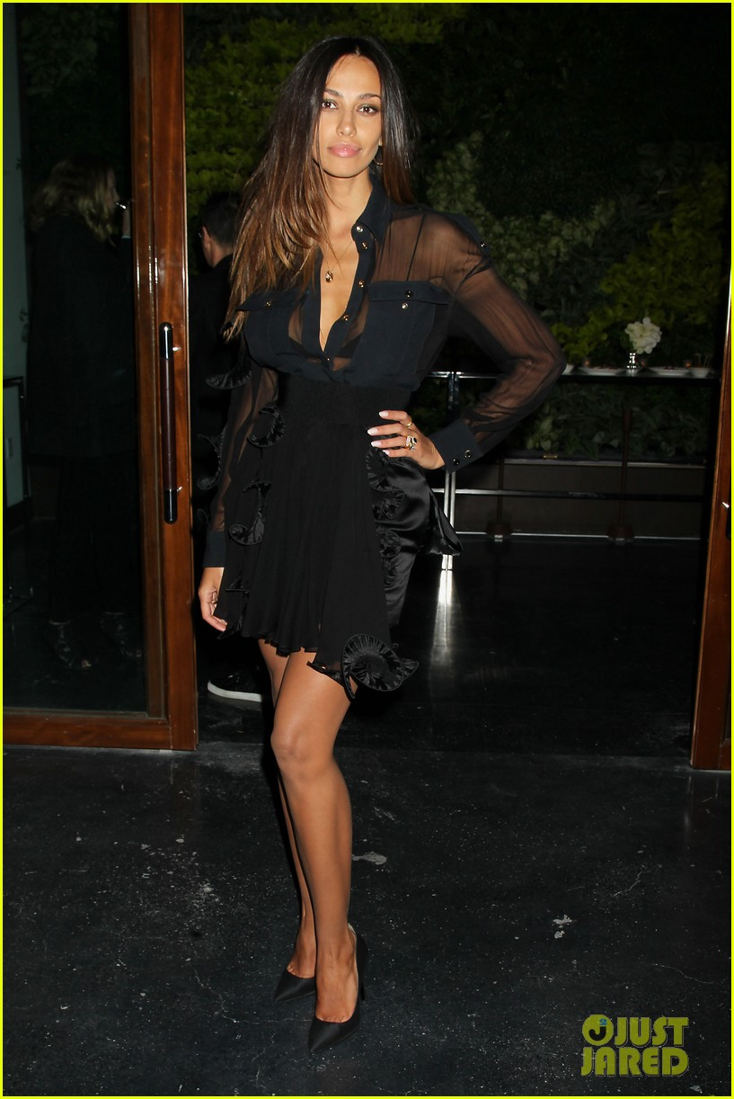 madalina ghenea switches it up at dom hemingway after party 09