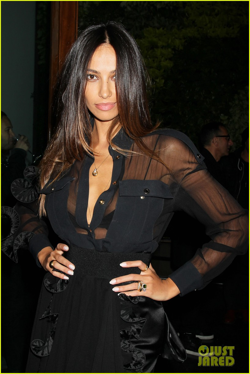 madalina ghenea switches it up at dom hemingway after party 123080347