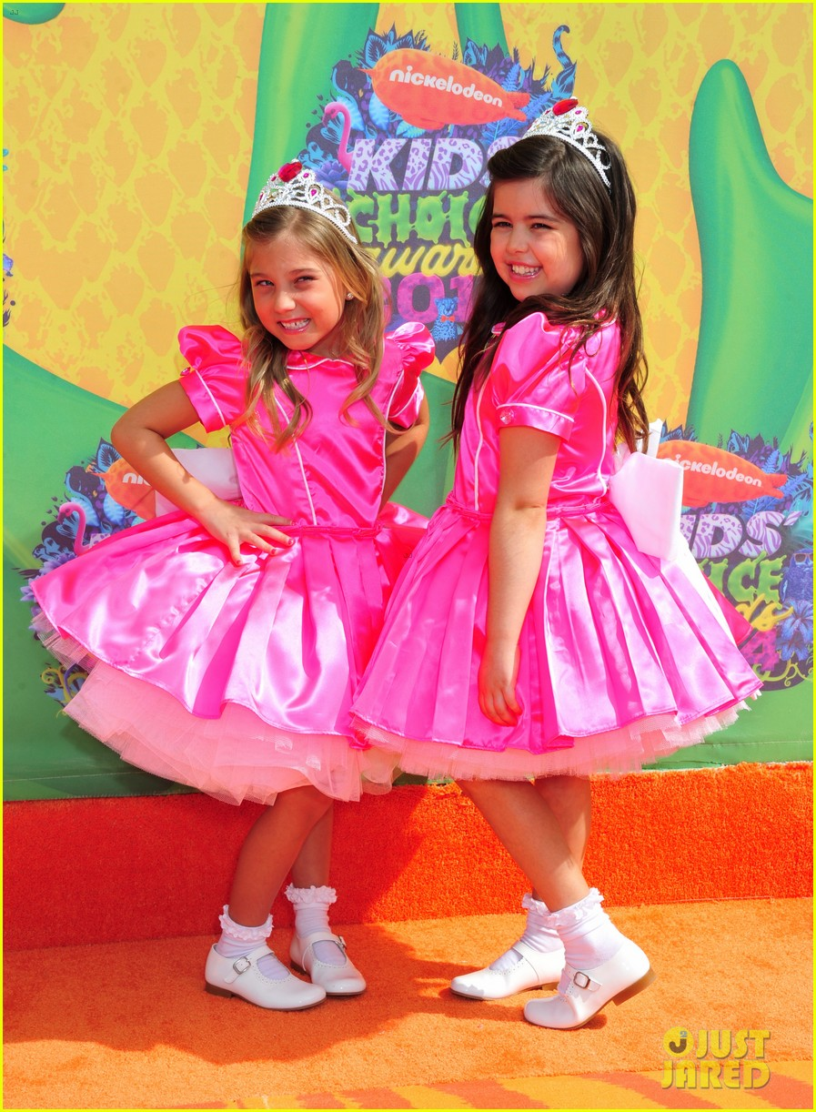 sophia grace rosie kids choice awards 2014 033081284