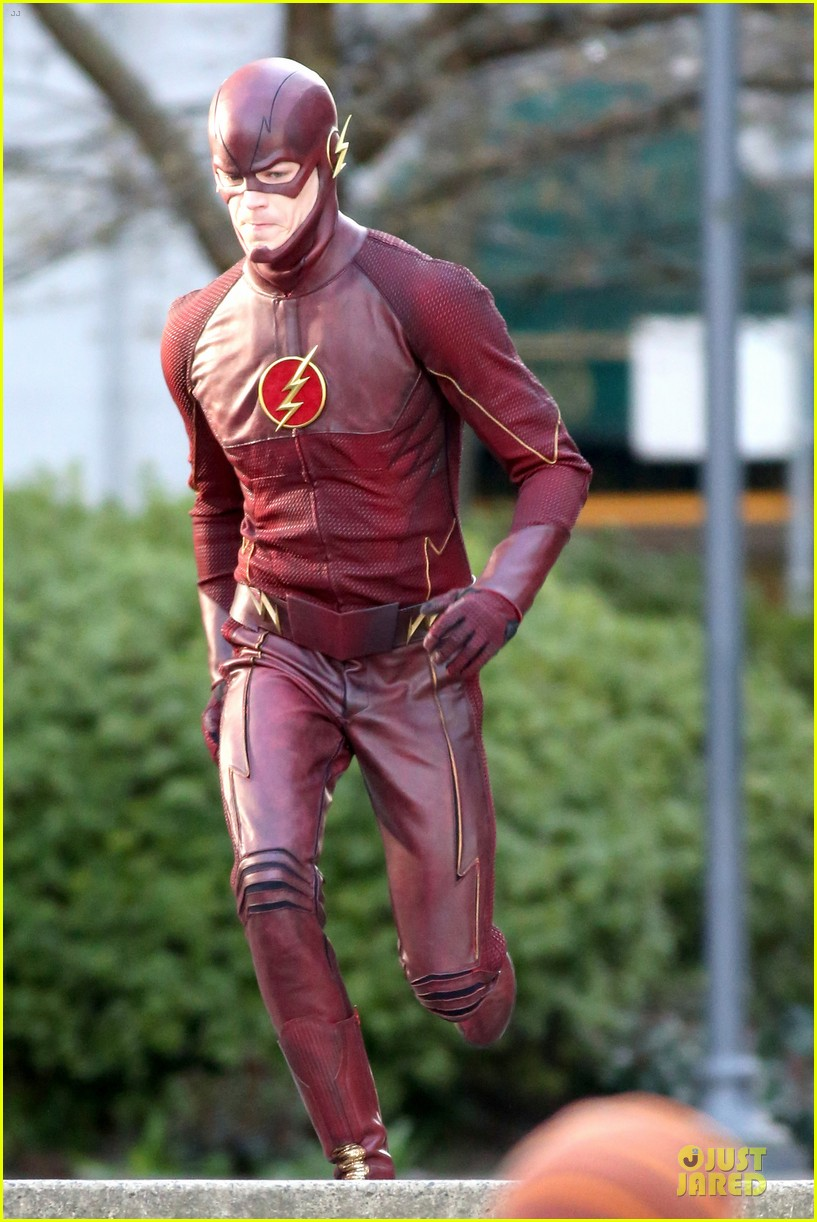 grant gustin is proud stoked to wear flash costume 053070234