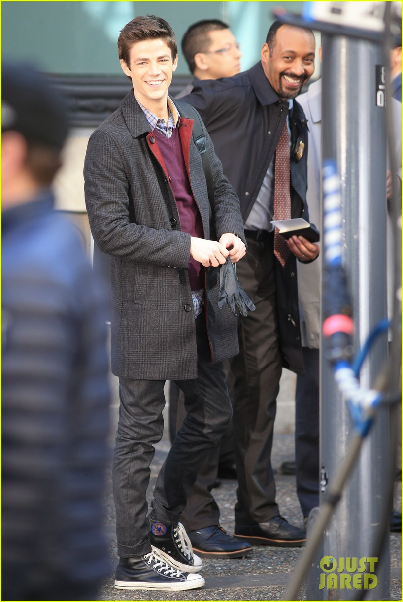 grant gustin flashes into action 013071207