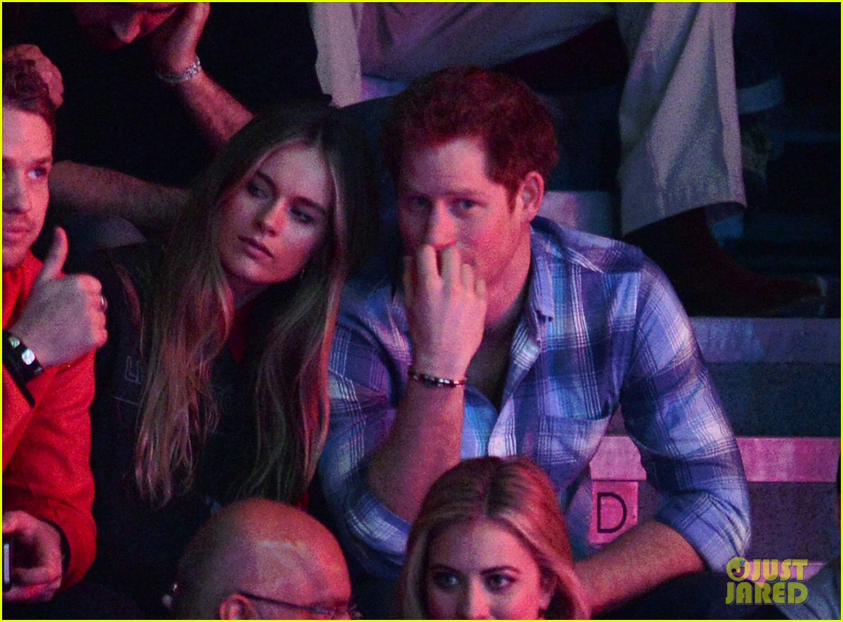 prince harry girlfriend cressida bonas attend first official event together 033067792