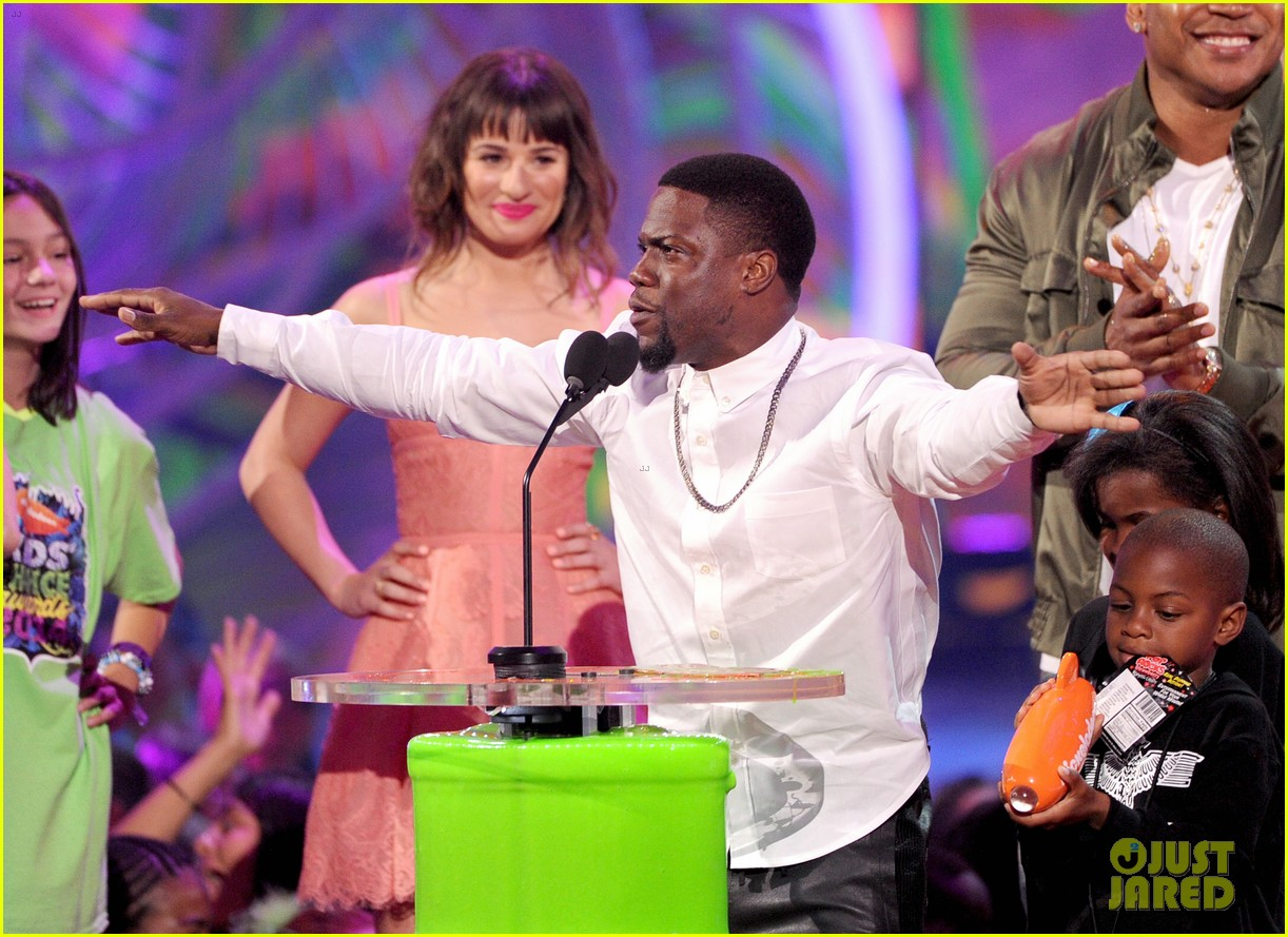 kevin hart adam sandler kids choice awards 2014 073081473
