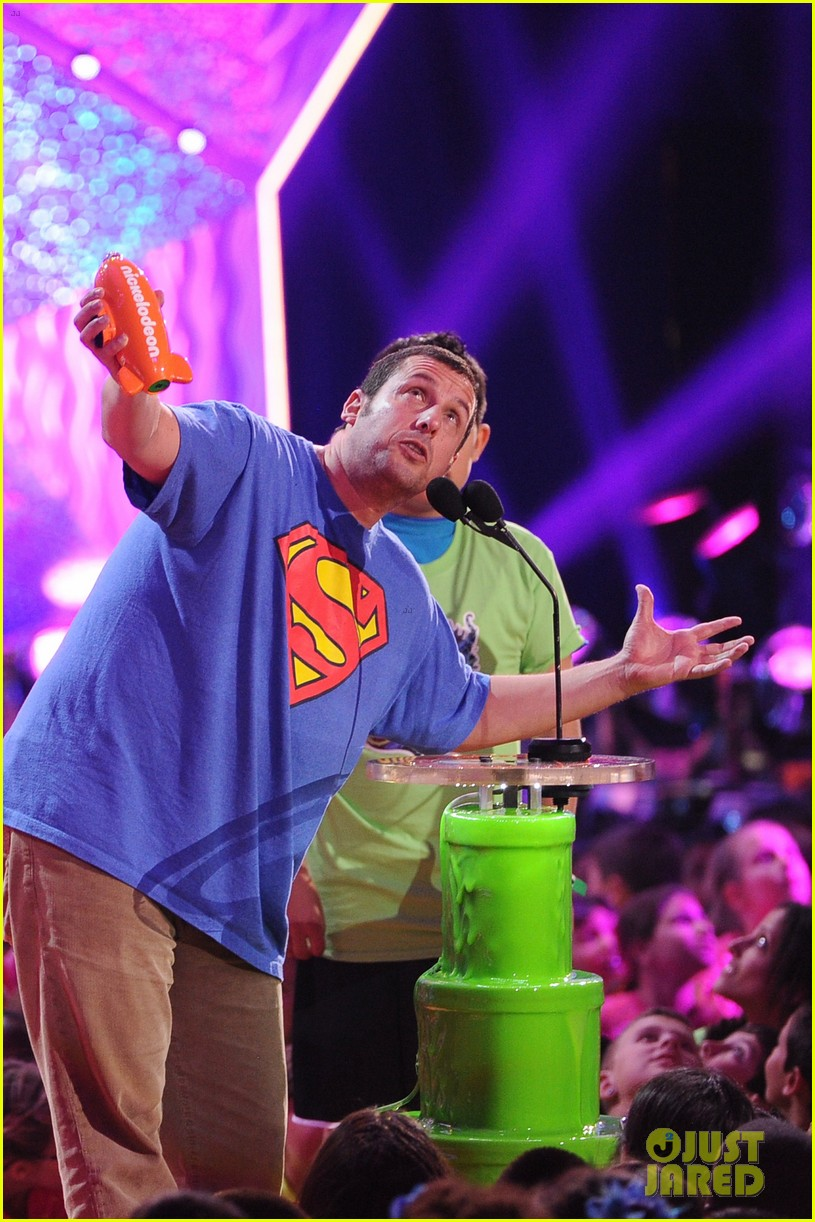 kevin hart adam sandler kids choice awards 2014 103081476