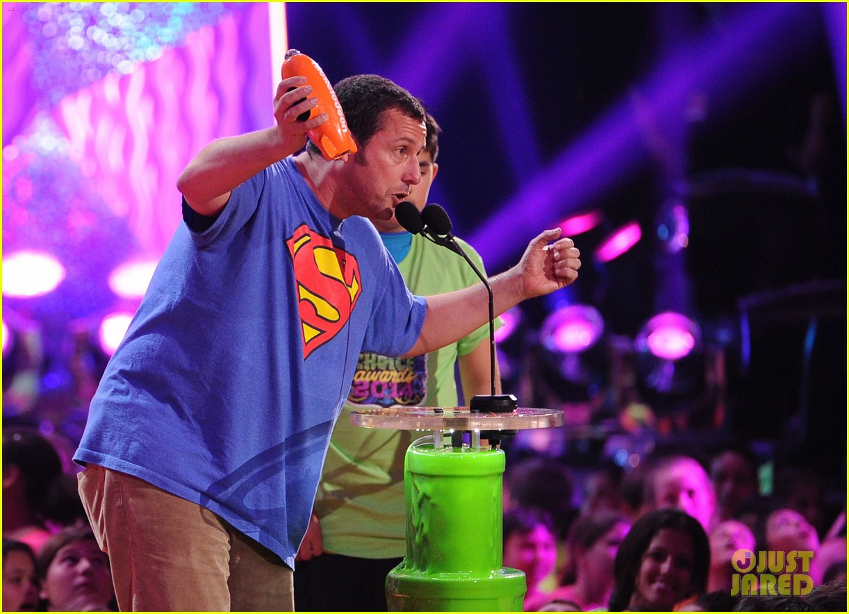 kevin hart adam sandler kids choice awards 2014 213081487