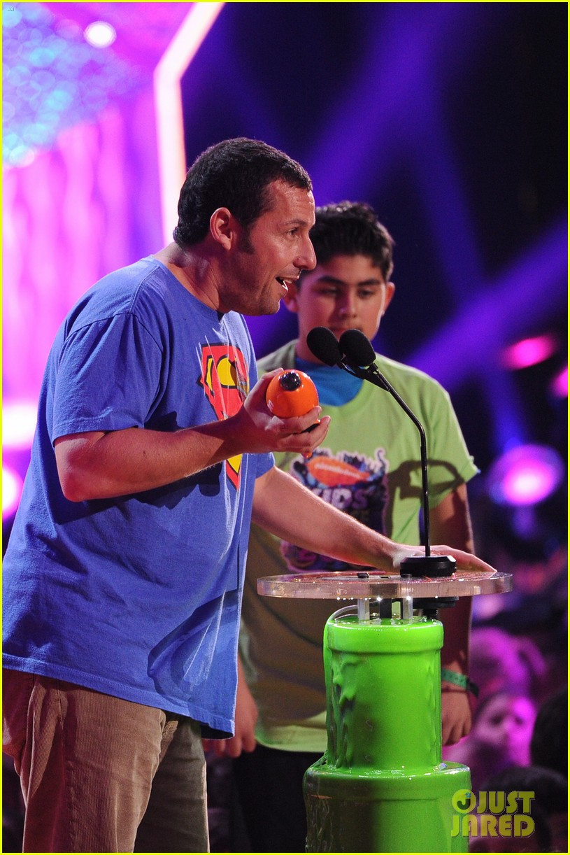 kevin hart adam sandler kids choice awards 2014 223081488