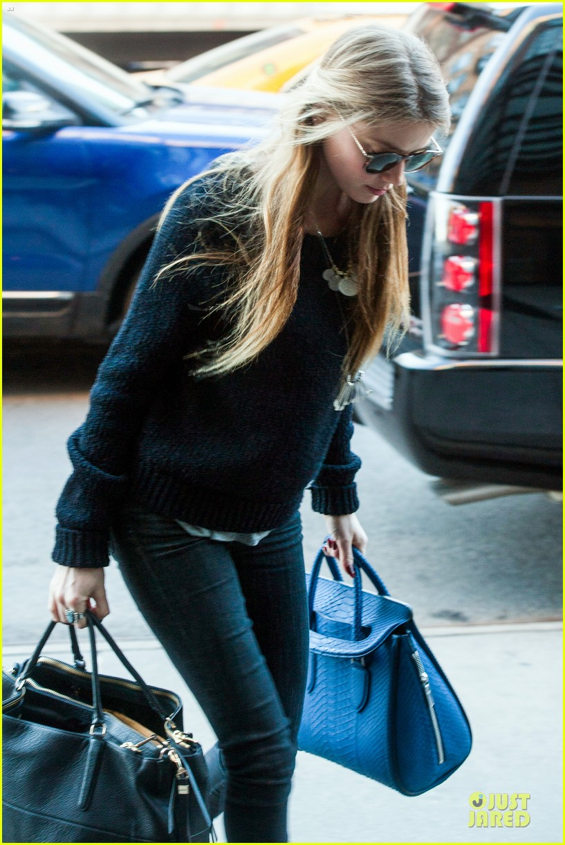amber heard blue in nyc 083076309
