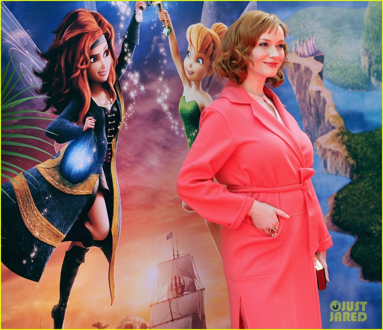 christina hendricks mae whitman pirate fairy premiere 073076930