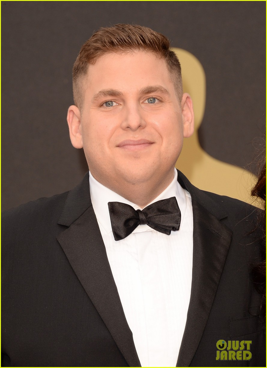 jonah hill brought his mom sharon to the oscars 2014 02