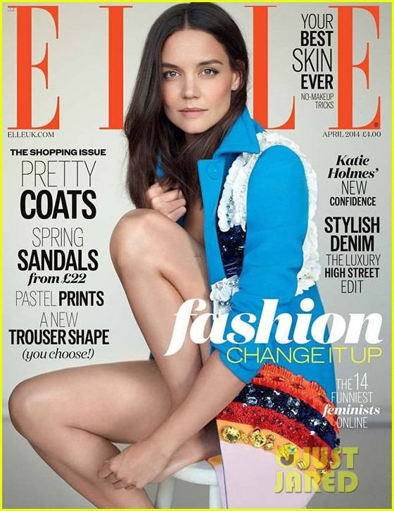 katie holmes looks flawless on elle uk april 20143066639