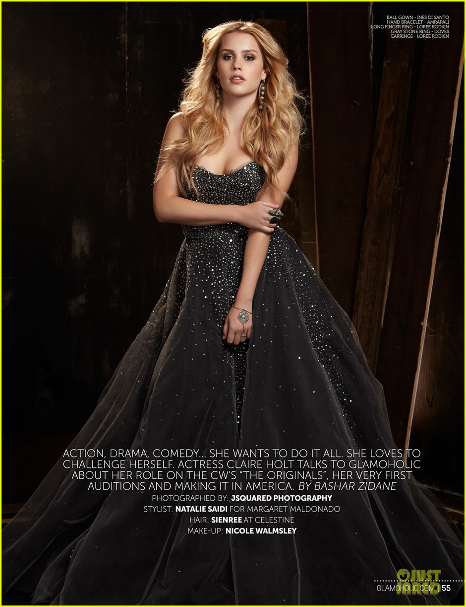 claire holt covers glamoholic 01