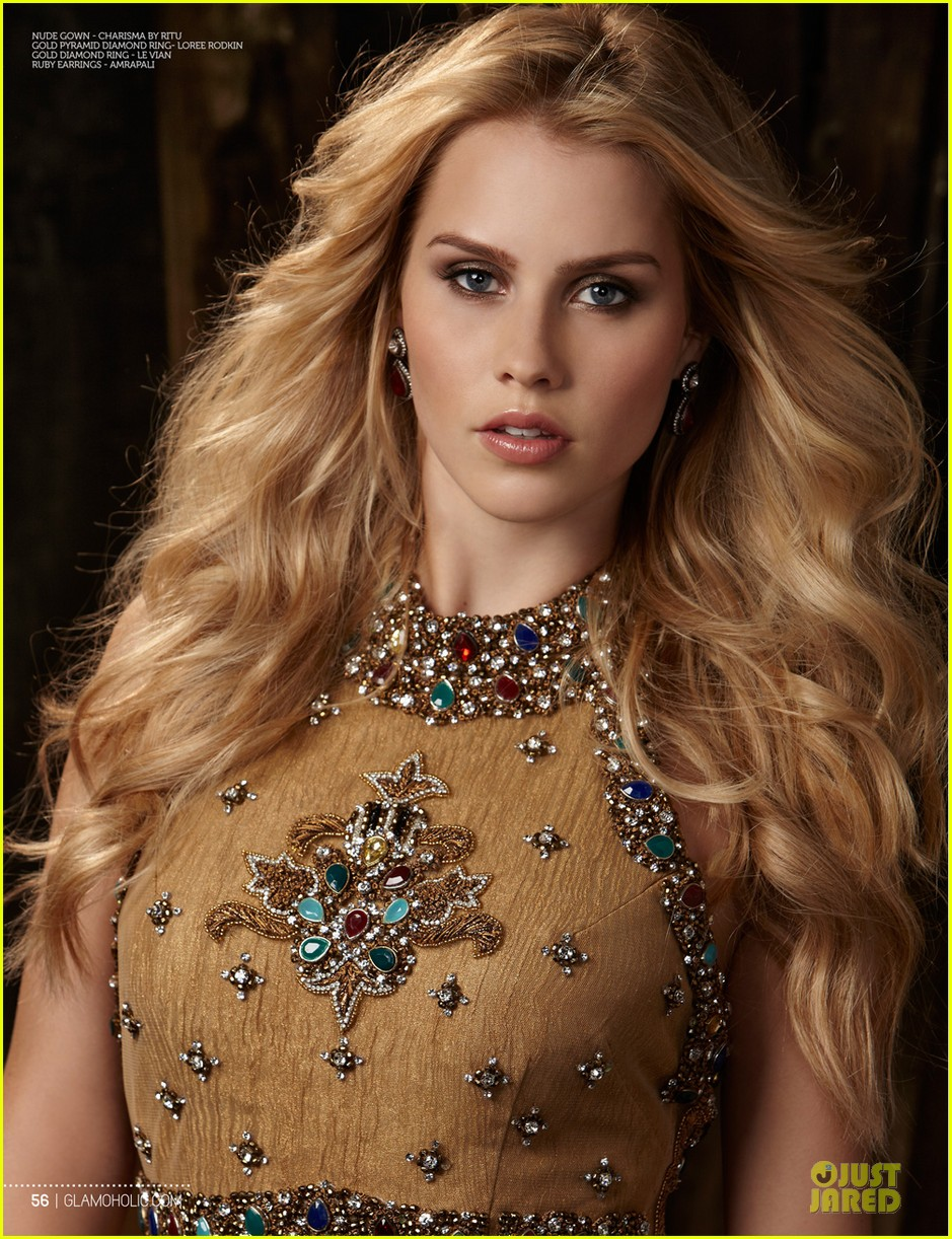 claire holt covers glamoholic 023076587