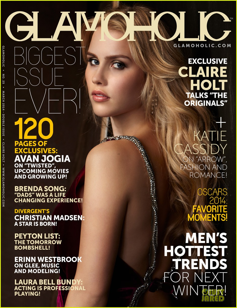 claire holt covers glamoholic 07