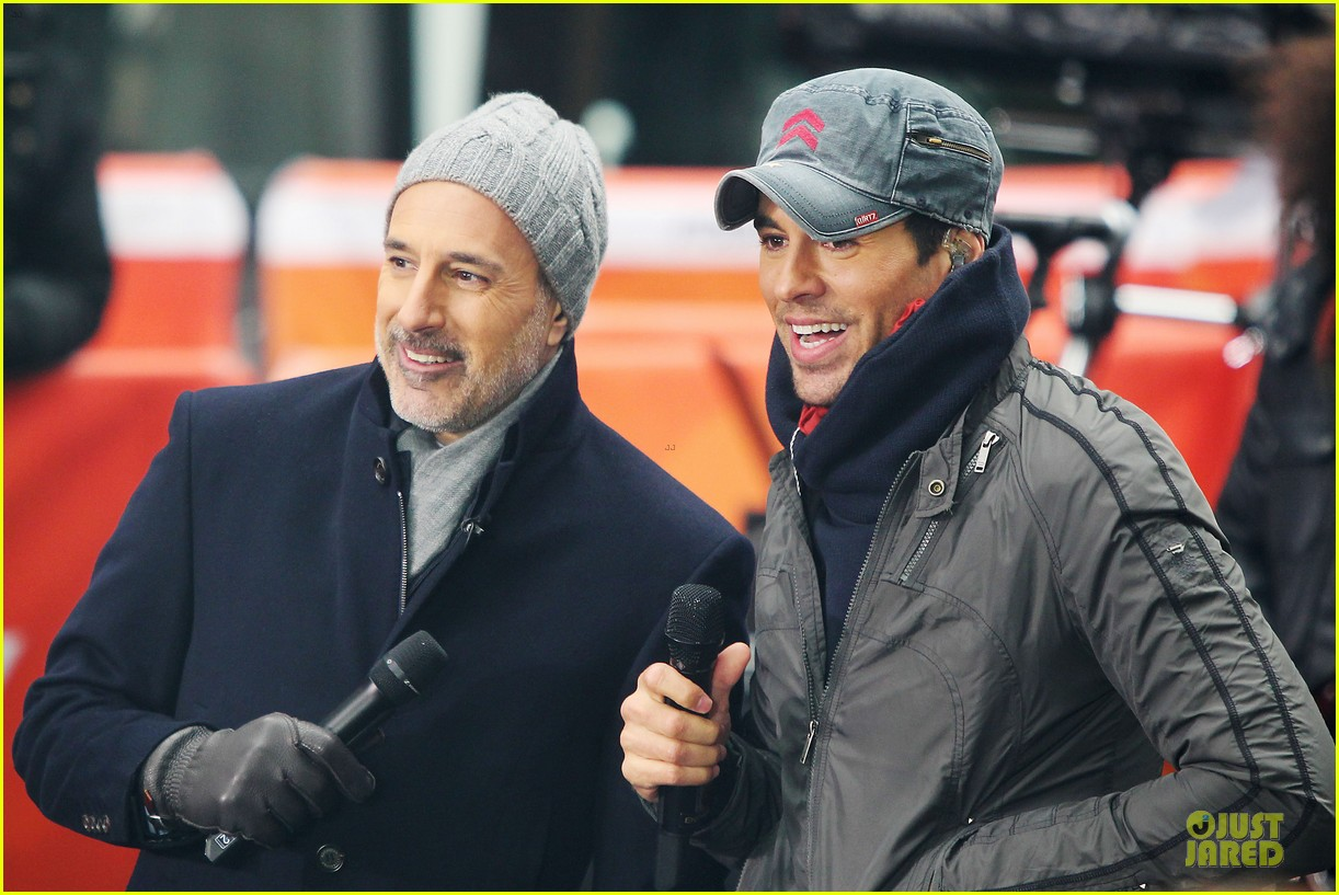 enrique iglesias heart attack on today show 10