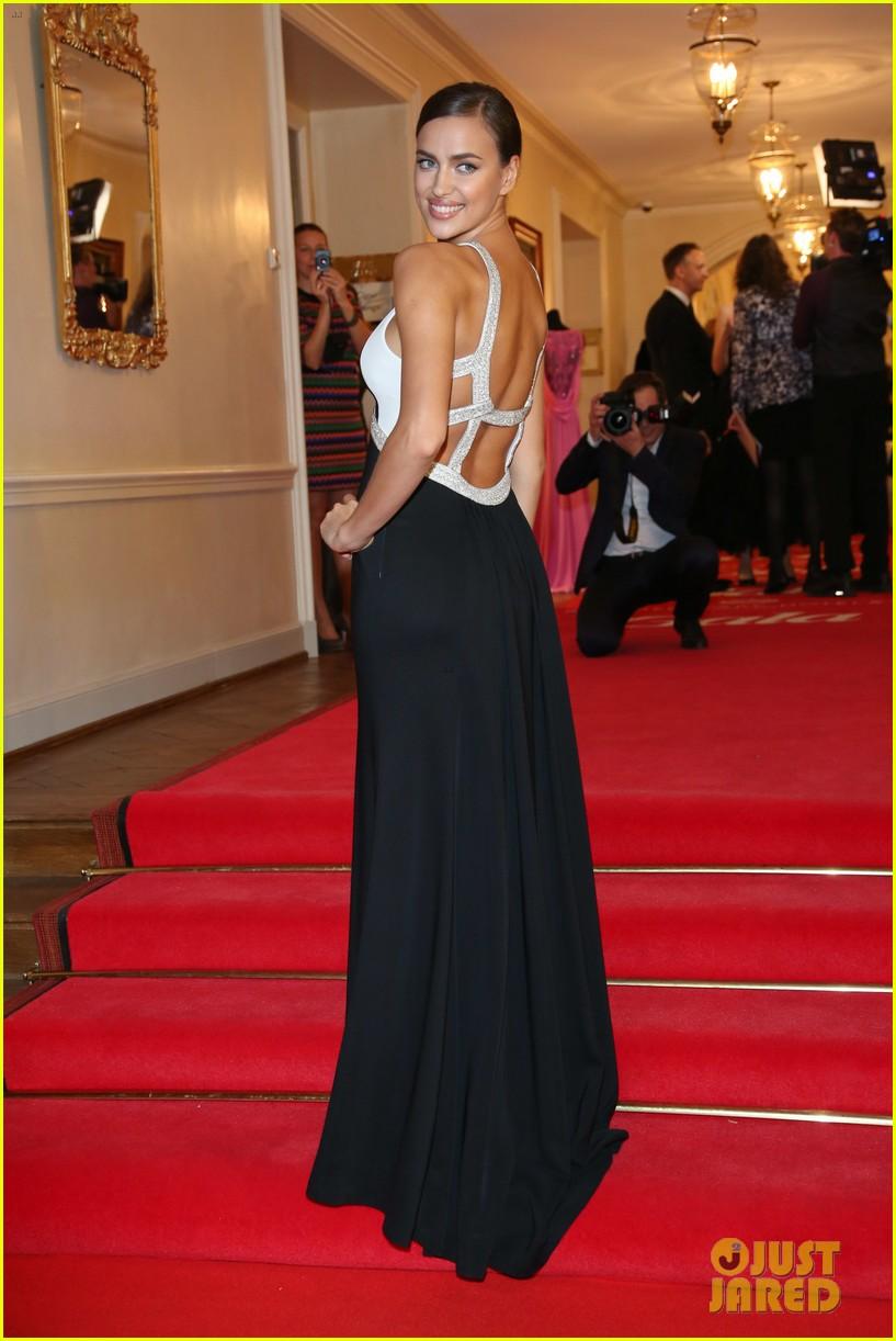 irina shayk assets plunging neckline gala spa awards 2014 073072740
