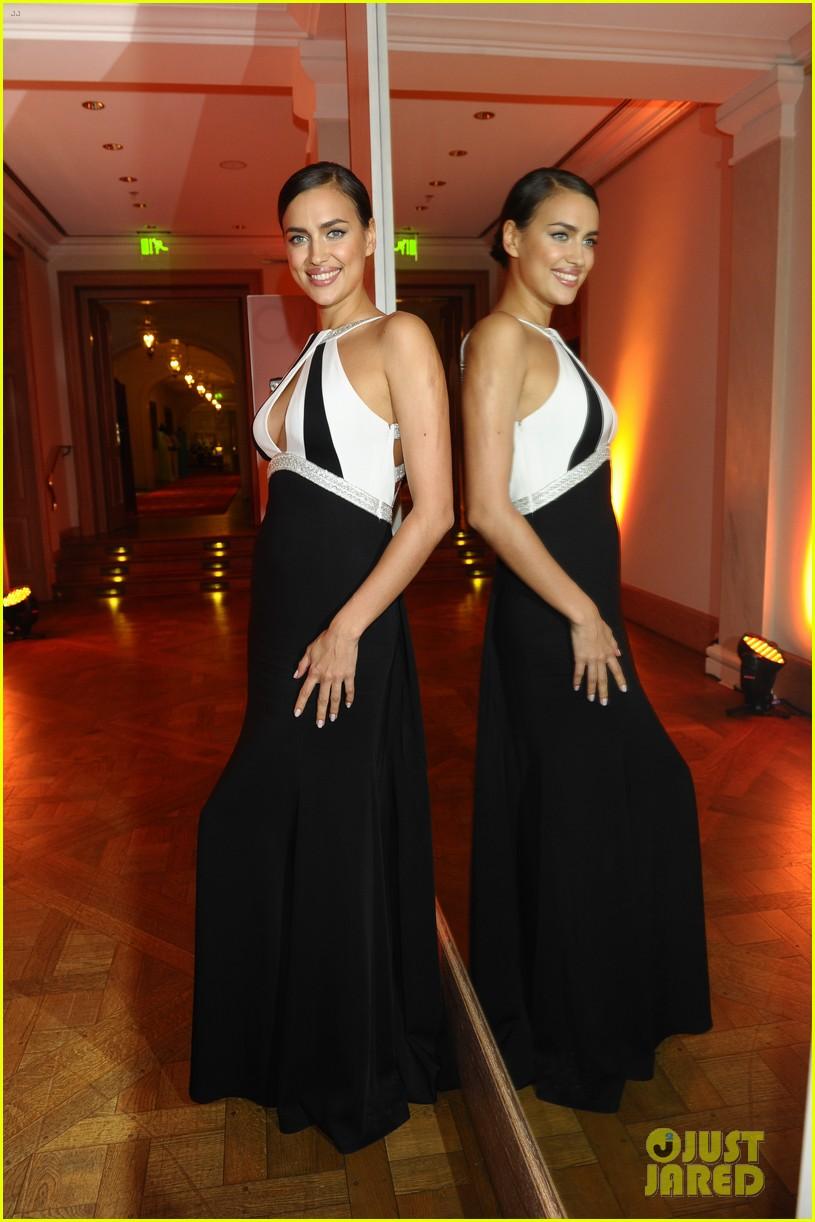 irina shayk assets plunging neckline gala spa awards 2014 113072744