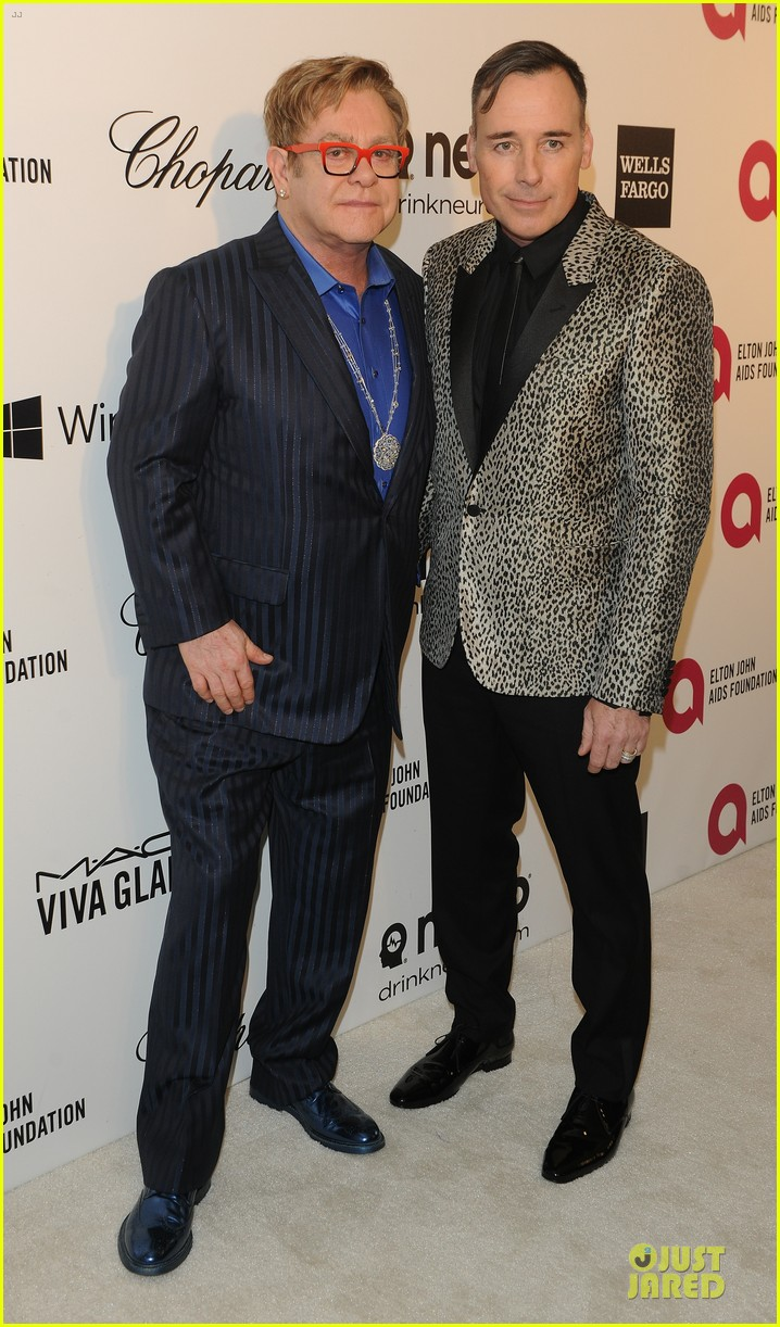 elton john david furnish fierce hosts at annual aids oscars party 2014 063064342