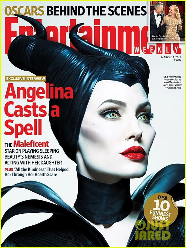 angelina jolie covers entertainment weekly as maleficent 013066379