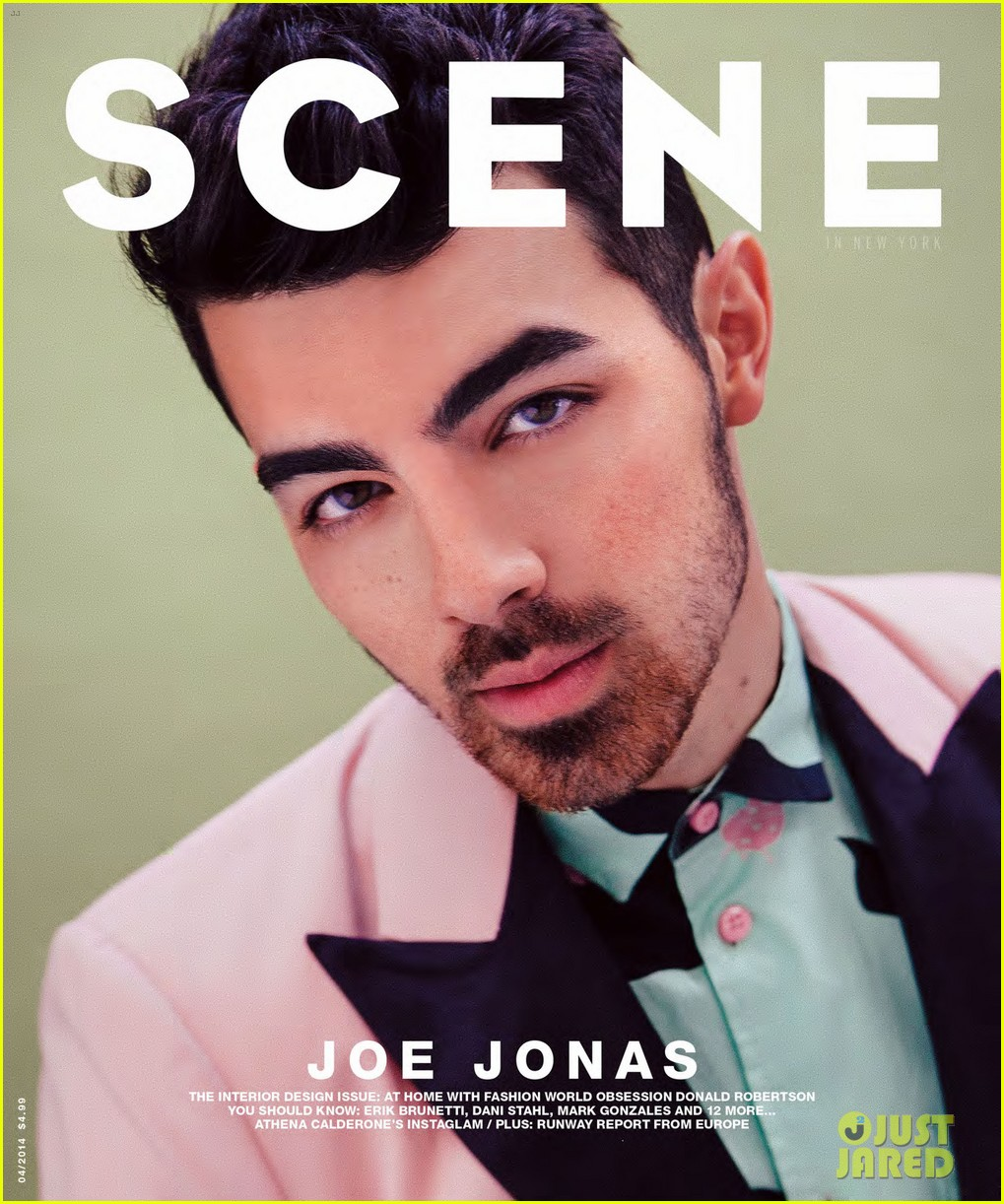 joe jonas scene magazine 07