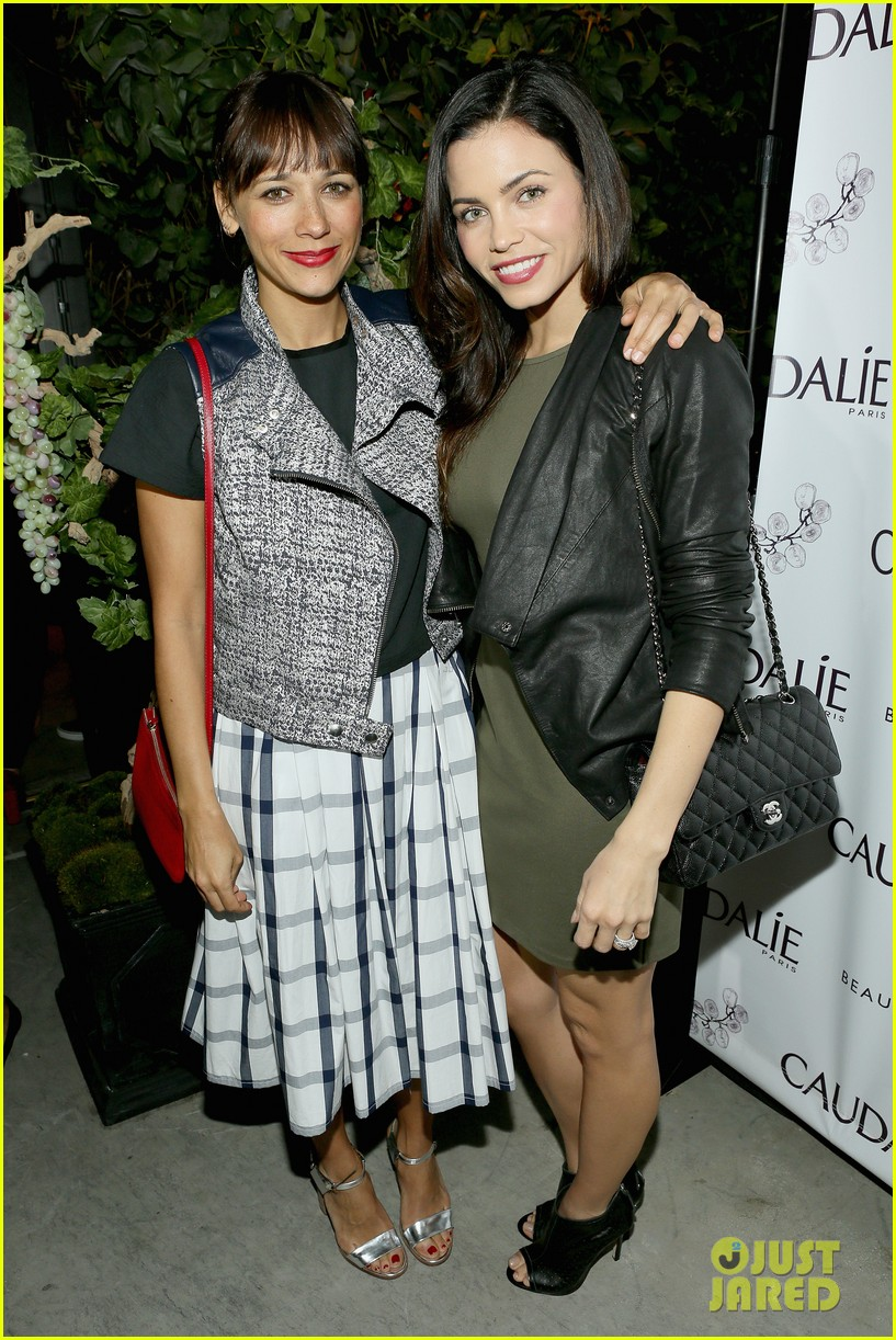 rashida jones jena malone caudalie boutique spa opening 043071051
