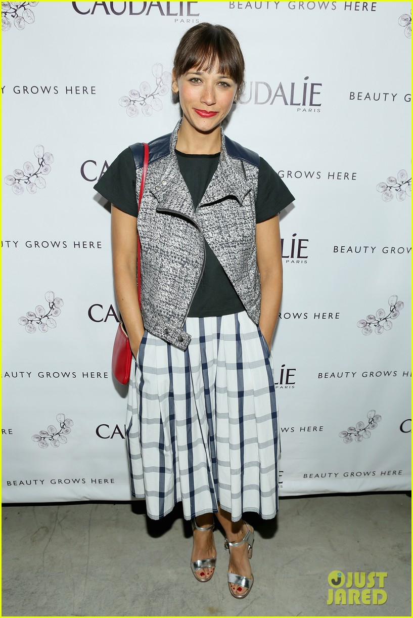 rashida jones jena malone caudalie boutique spa opening 073071054