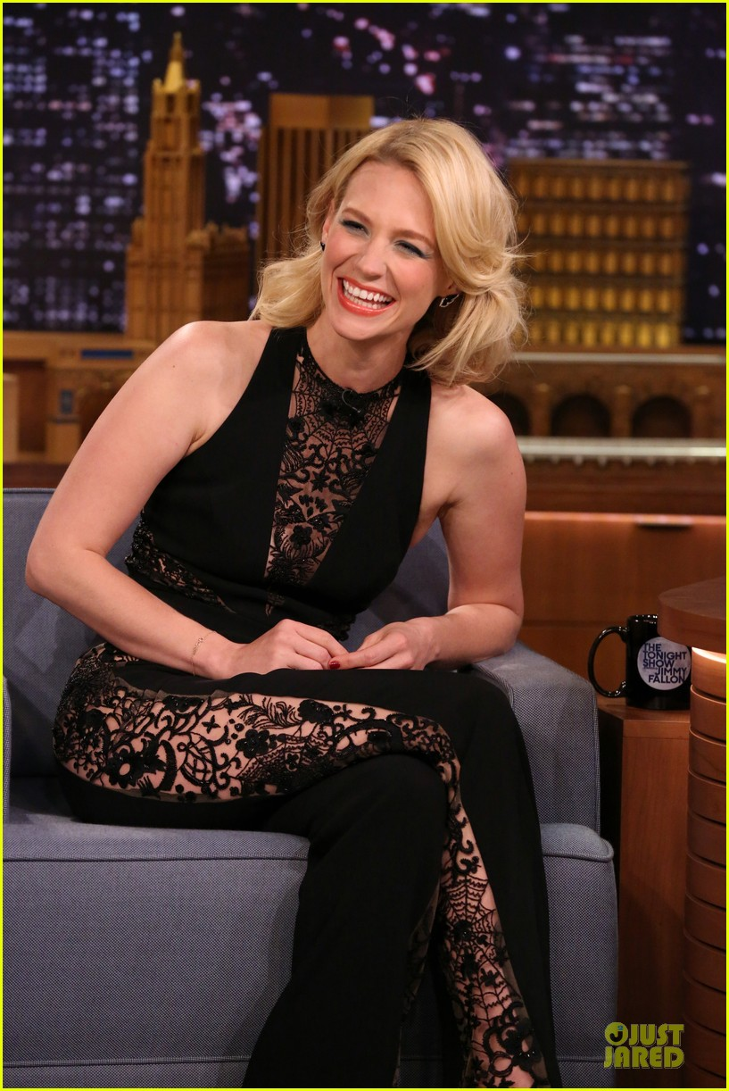 january jones sheer side tonight show 033080924