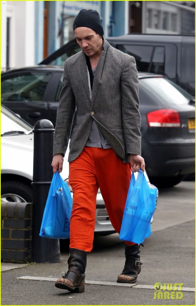 jonathan rhys meyers is hard to miss in bright red pants 033066681