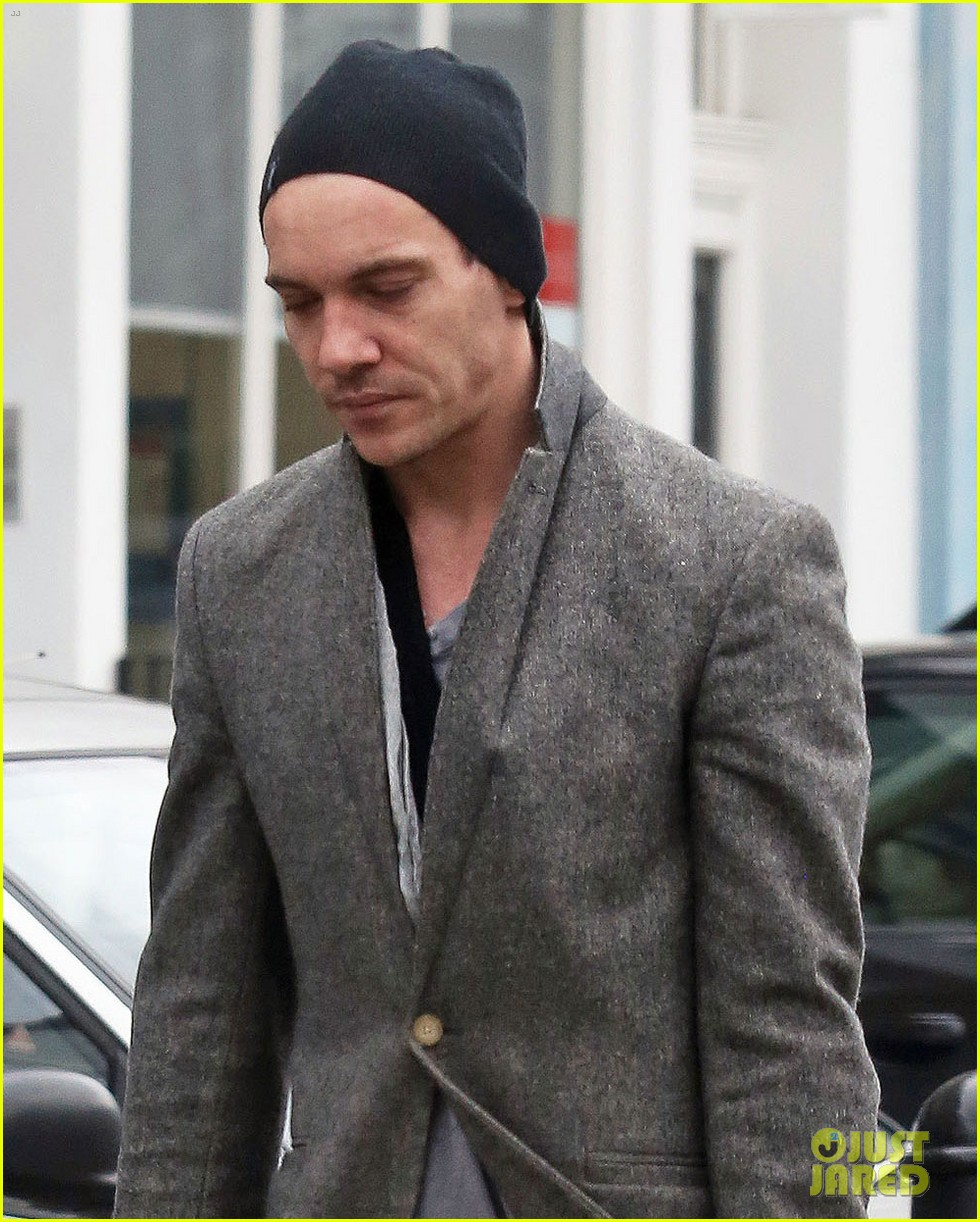 jonathan rhys meyers is hard to miss in bright red pants 043066682