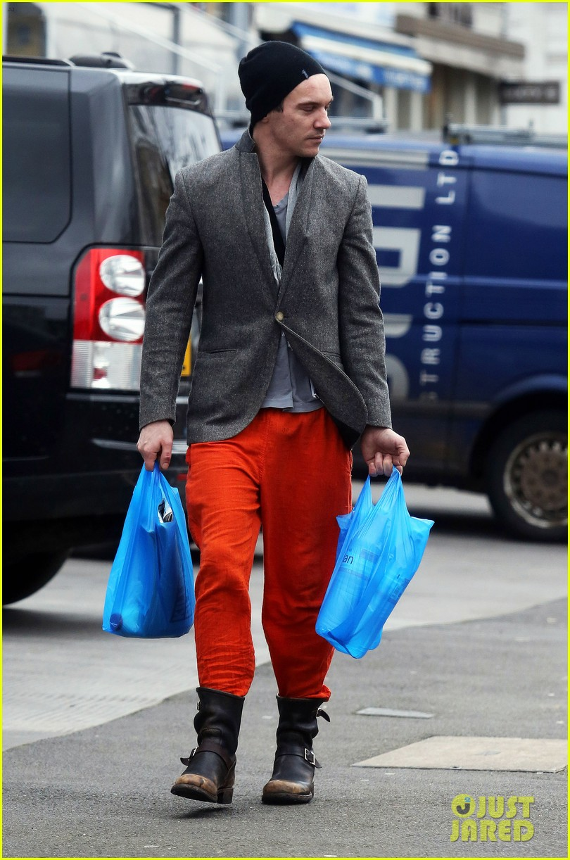 jonathan rhys meyers is hard to miss in bright red pants 053066683