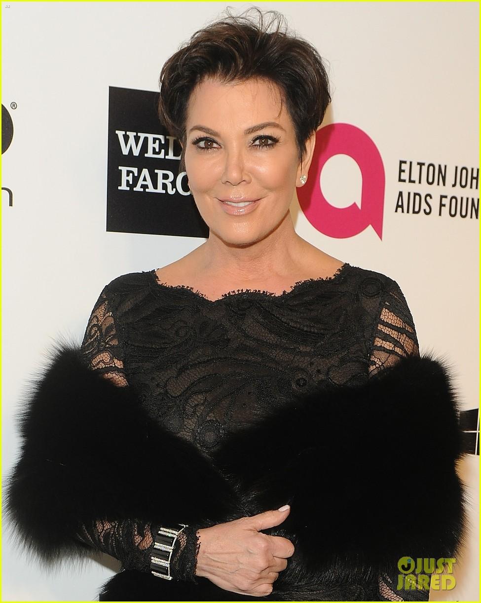 kardashian sisters kris jenner elton john oscars party 2014 083064810