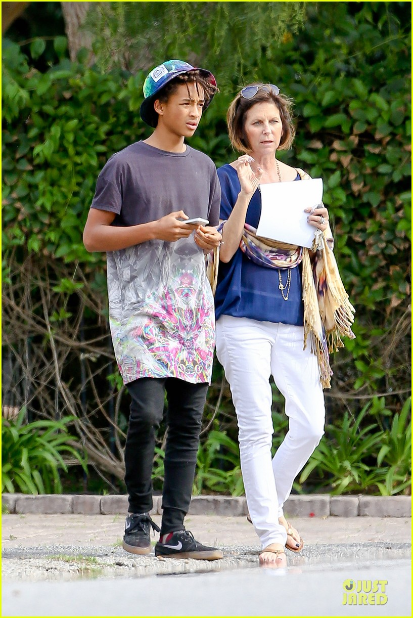 kendall kylie jenner meet up with super excited jaden smith 053072197