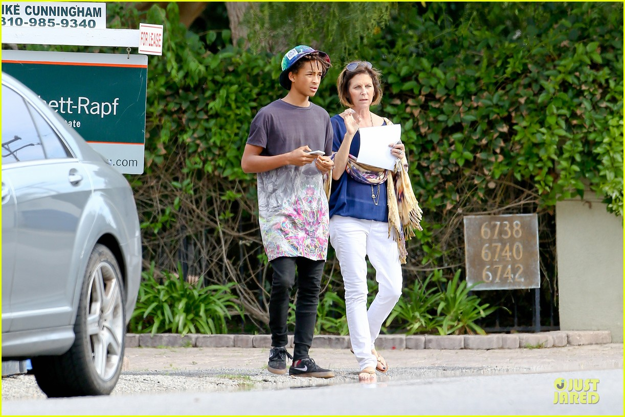kendall kylie jenner meet up with super excited jaden smith 113072203