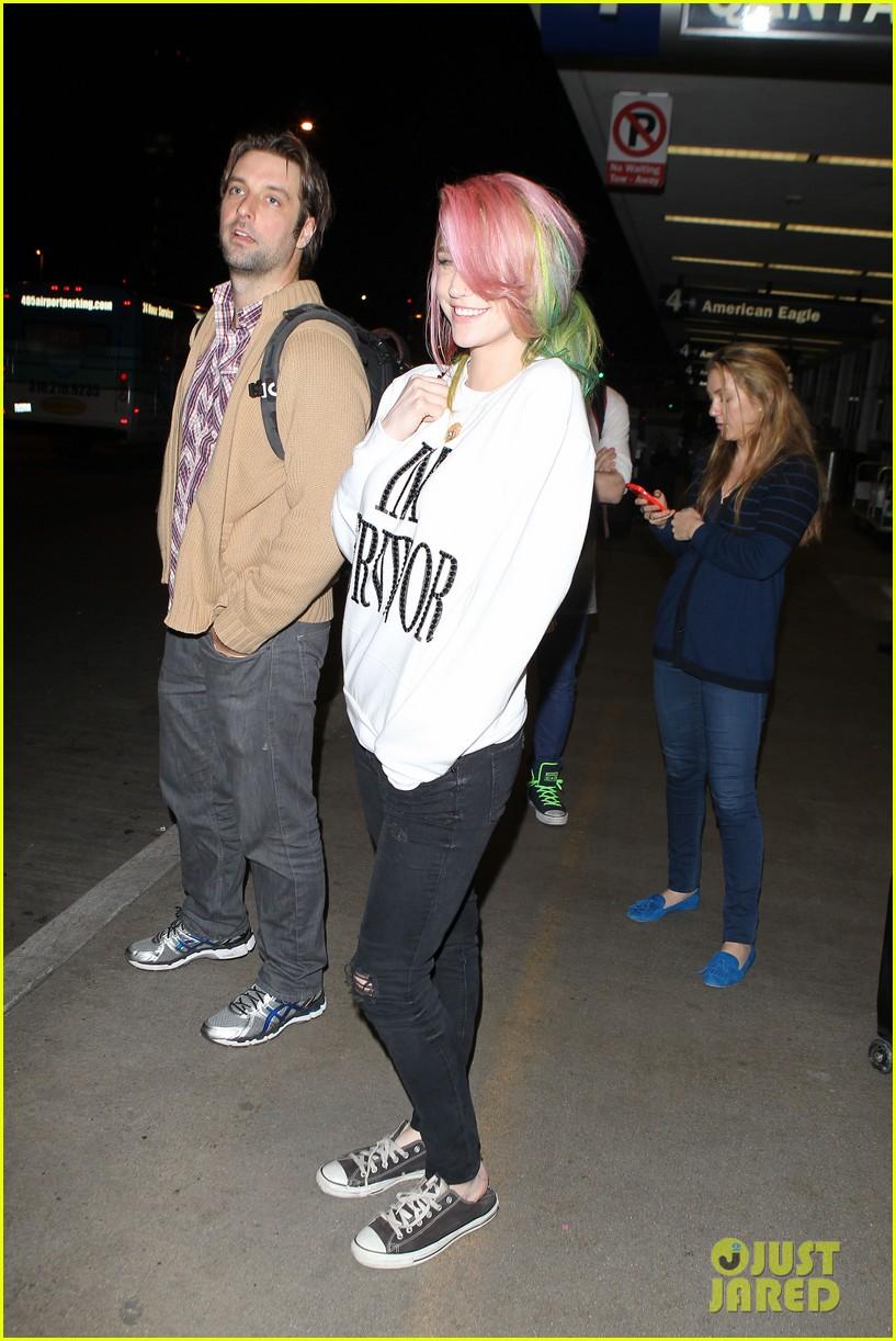 kesha steps out with rainbow hair rehab 173067594