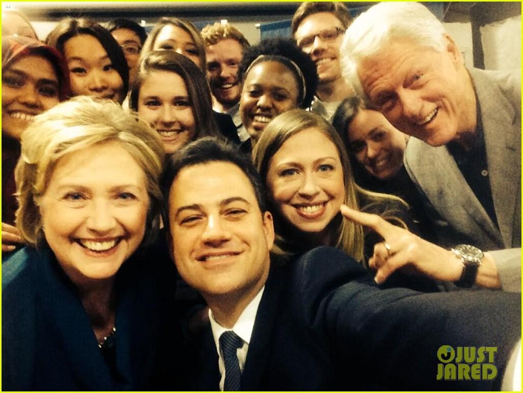 jimmy kimmel clinton selfie3076868