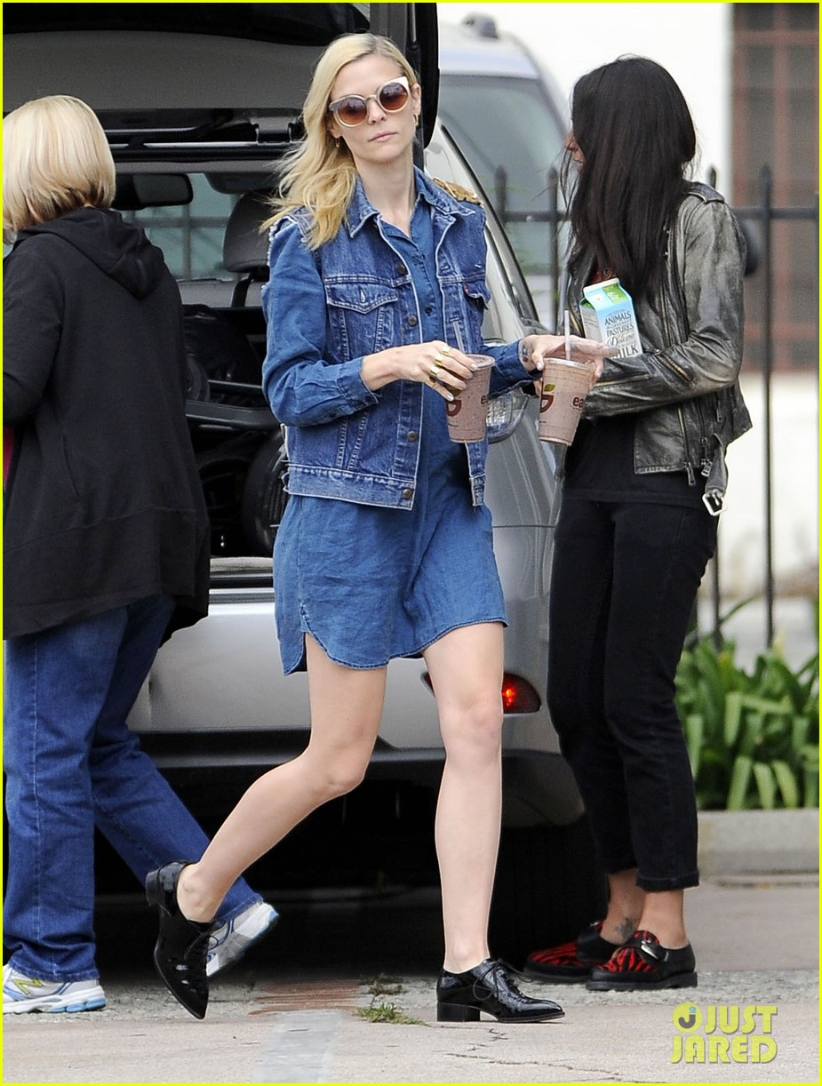 jaime king goes for an all denim look in weho 033077049