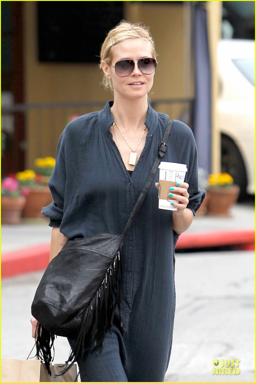 heidi klum shows beauty of being pregnant 043076403