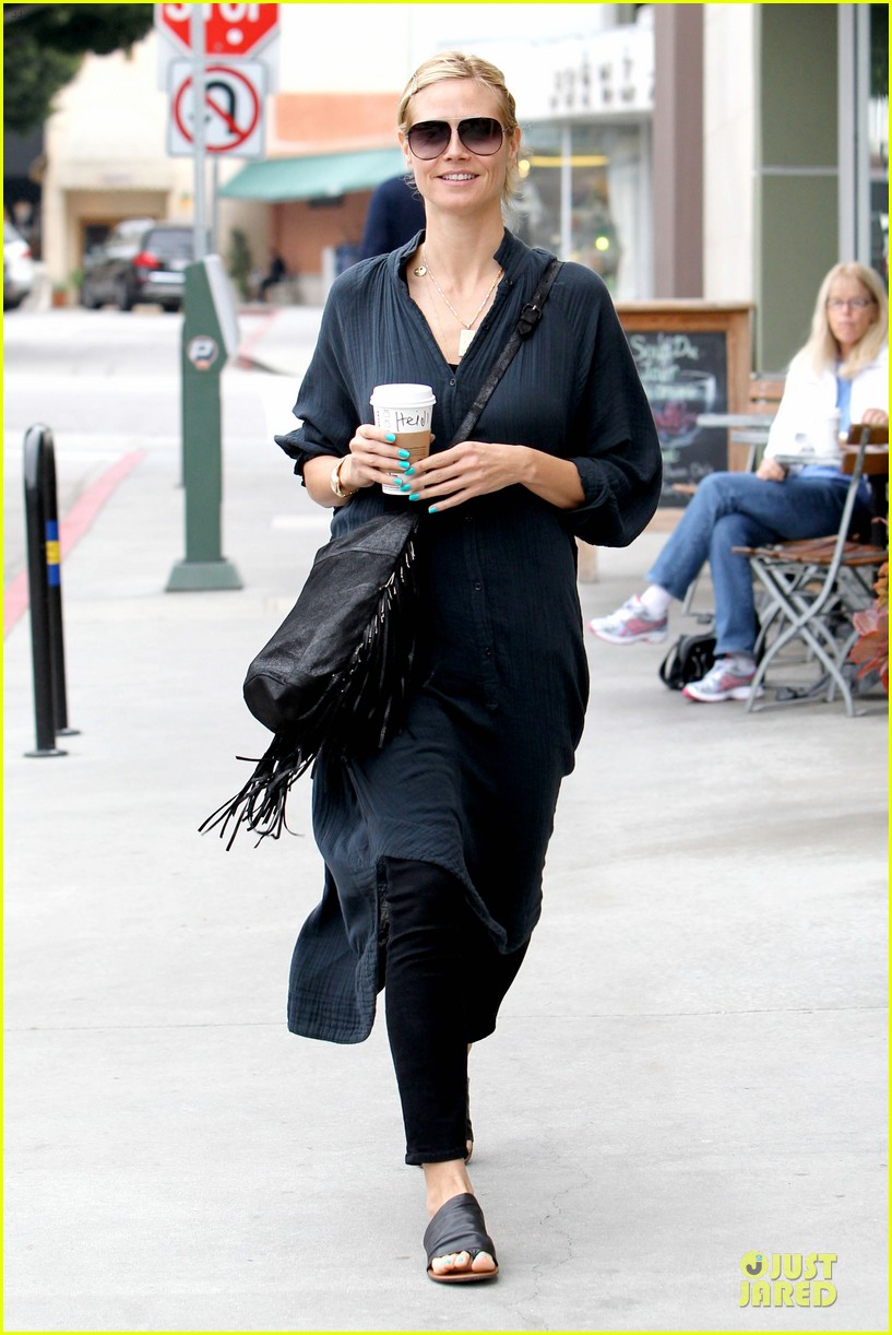 heidi klum shows beauty of being pregnant 063076405