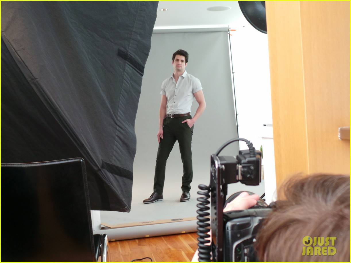 james lafferty jj spotlight behind the scenes pics exclusive 12