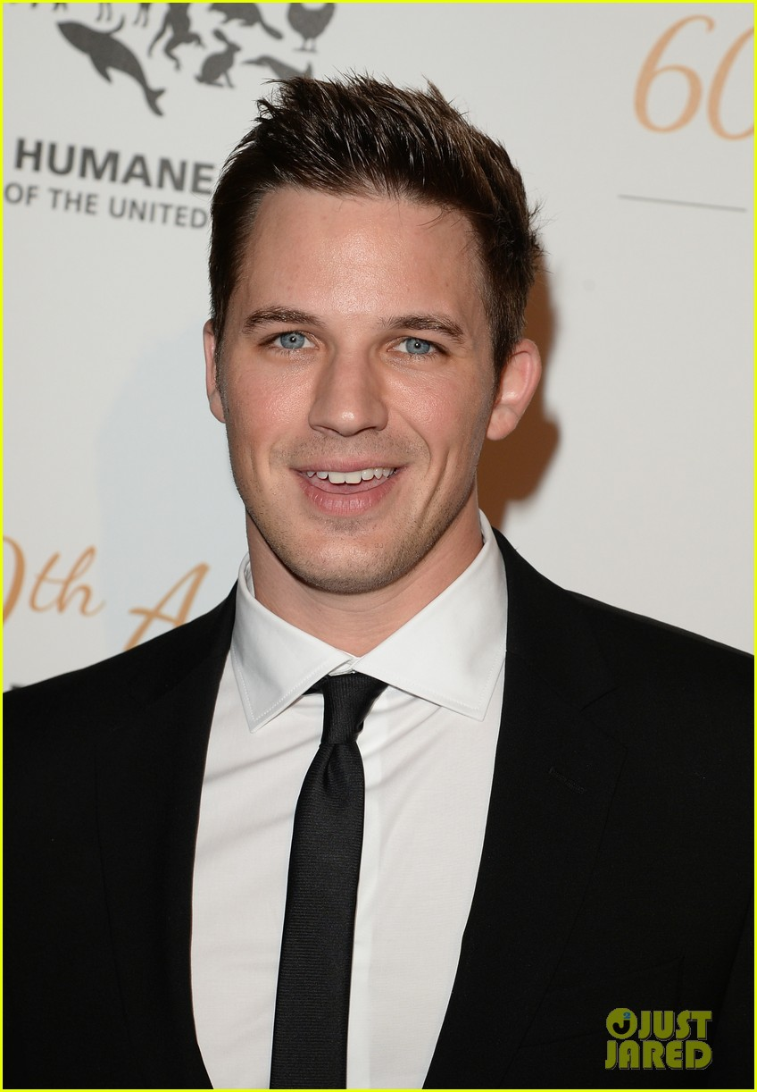 hearththrobes matt lanter ian harding step out for the humane society 073081642