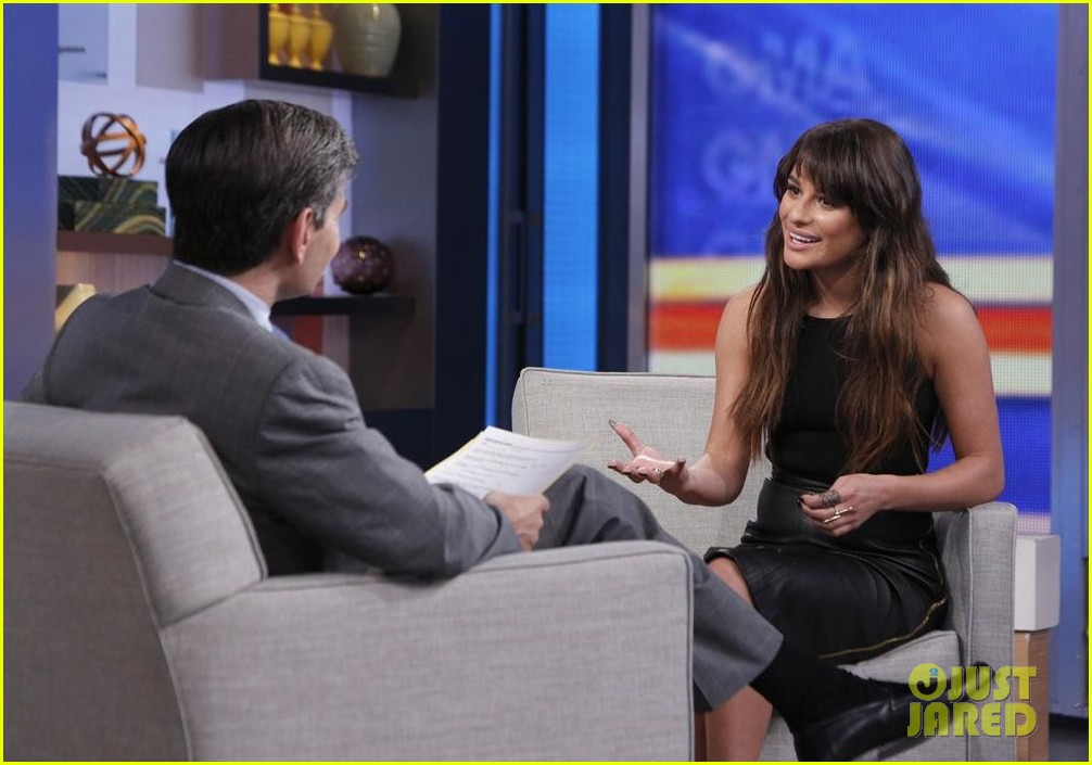 lea michele brings louder to good morning america 033066512