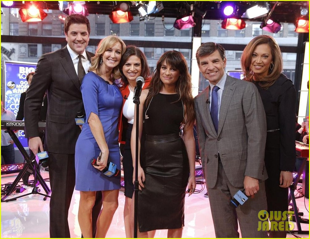lea michele brings louder to good morning america 043066513