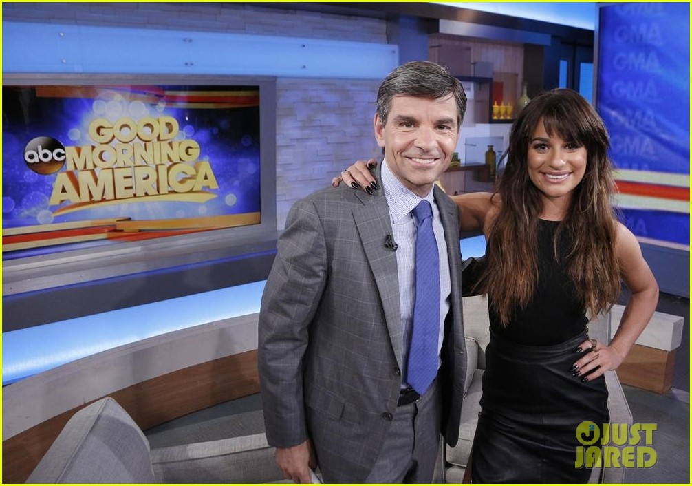 lea michele brings louder to good morning america 113066520